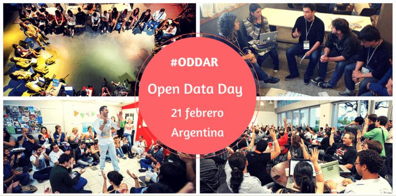 Open Data Day 2015, imagen extraída de la página Escuela de Datos, utilizada con autorización