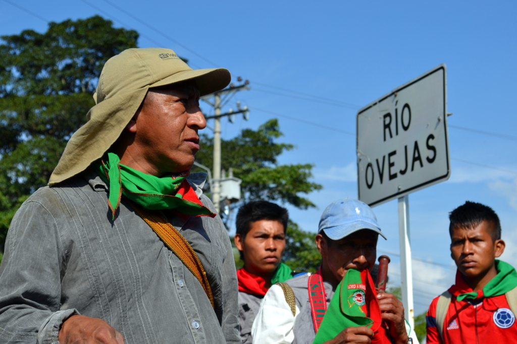 March in defense of the River Ovejas, photography by Natalio Pinto, authorized use