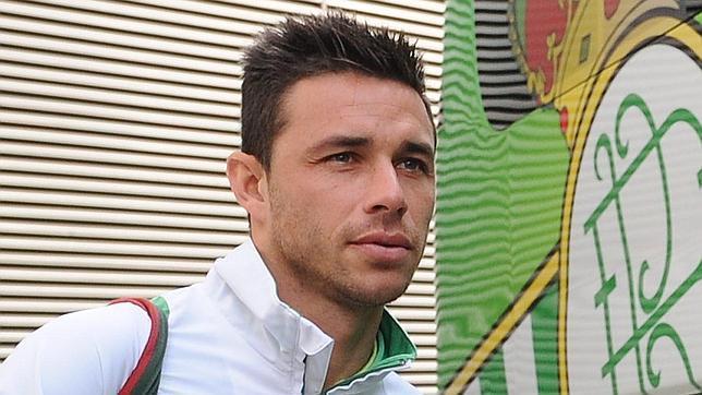 روبن كاسترو، لاعب ريال بيتيس. تصوير andaluces.es -  رخصة المشاع الإبداعى- النسبة الثالثة