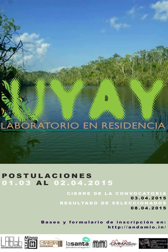 UYAY, laboratorio en residencia. Fotografía extraída del blog Mil Inviernos