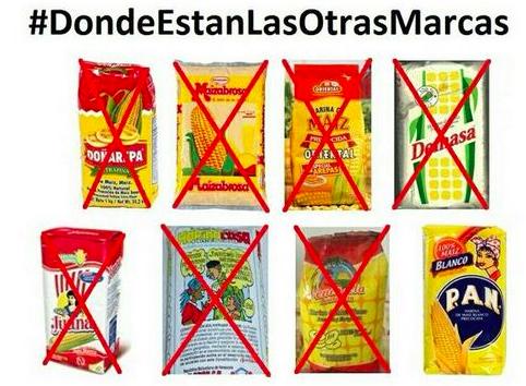 Uno de los tantos memes que circulan en las redes sociales sobre la escasez en Venezuela.