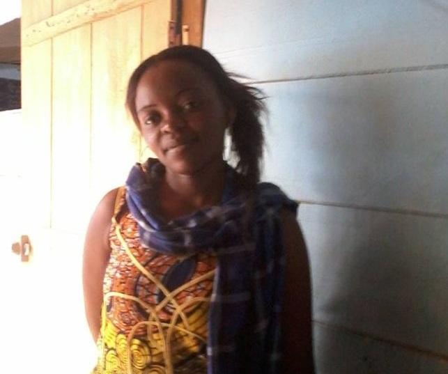 Christelle Nangnou en una imagen tomada en Camerún. Imagen de eldiario.com con licencia CC BY-SA 3.0