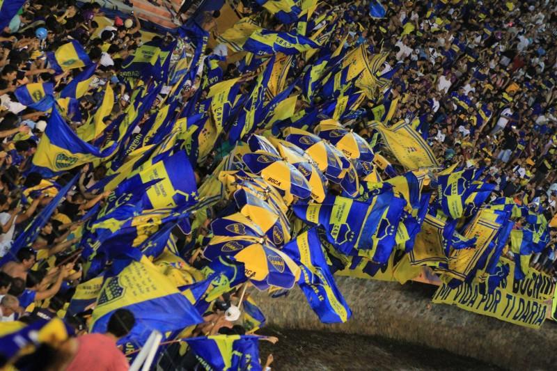 Imagen de encuentro Boca Juniors versus River Plata en Mendoza año 2013 de Usuario Rogerio Tomaz Jr. (CC BY-NC 2.0)