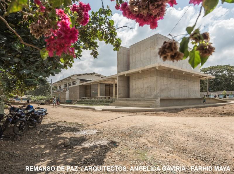 Centro Social Comuntario Remanso de paz, Pueblo Bello, Antioquia.