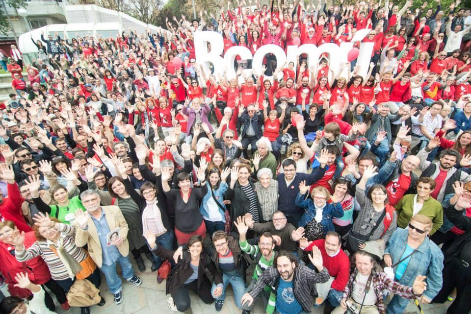 Foto de portada en Facebook de la plataforma política Barcelona en Comu. Tomada por Marc Lozano. (CC BY-SA 4.0)