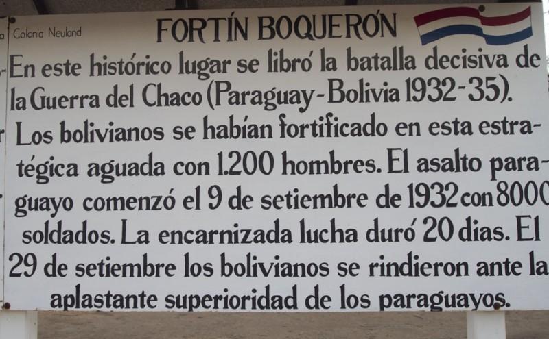 Fortín Boquerón. Fotn en Fickr del usuario Tetsumo (CC BY 2.0).