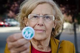 Manuela Carmena, candidata de Ahora Madrid, posible alcadesa de la capital - Imagen Licencia CC Wikimedia.org