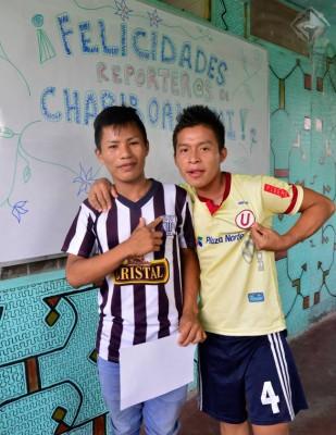 Reporteros adolescentes de Chariboan Joi