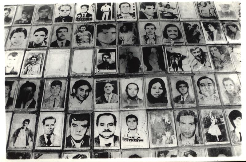 Detenidos desaparecidos en Chile durante la dictadura de Pinochet. rosario gonzalez