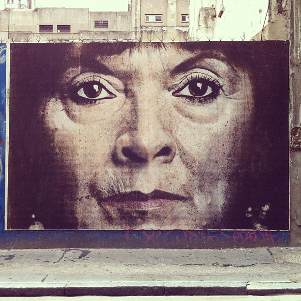 Susana Trimarco por No Touching Ground #buenosaires #streetart PixelBeat!