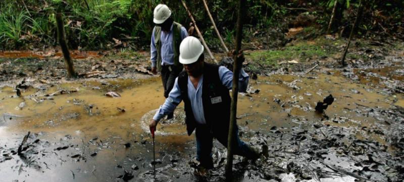 Impacto de la actividad petrolera de Pluspetrol en la comunidad de José Olaya, ubicada en la provincia del Datem de Marañón, Loreto. Foto: Julio Angulo - La República