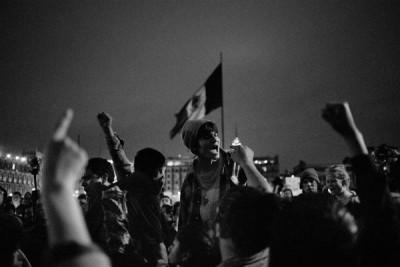 """Foto de Valentino Bellini de la exposición """"365 por los 43. Hasta las paredes saben"""""""