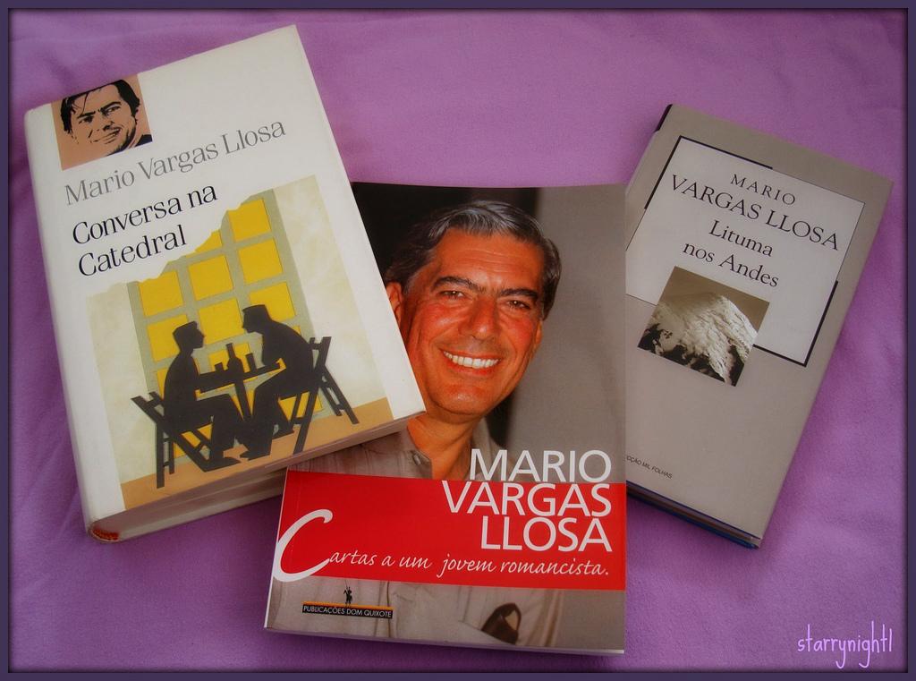 Obras de Mario Vargas Llosa. Imagen de Flickr de la usuaria Laura (CC BY-NC-ND 2.0).