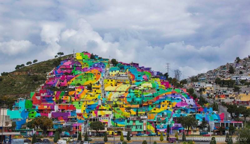 Mural palmitas