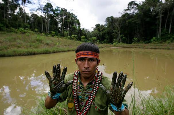 Poblador de la comunidad José Olaya. Foto: Julio Angulo – La República.