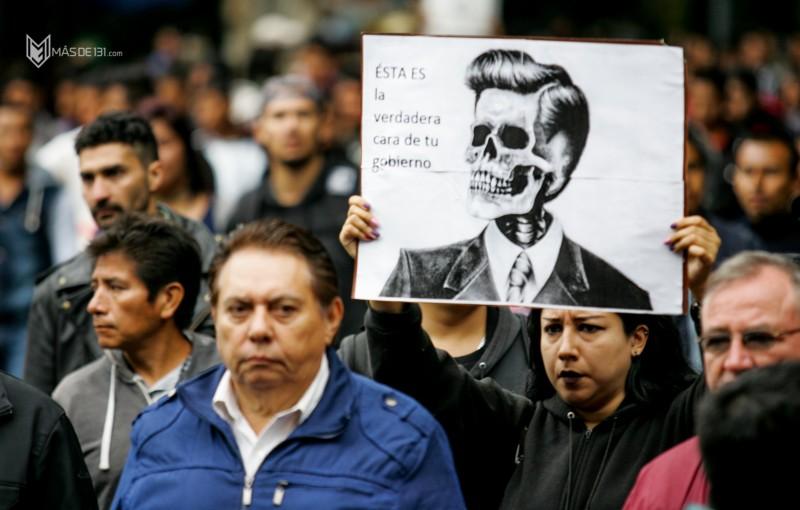 Marcha 1 año ayotzinapa_Daliri Oropeza 8