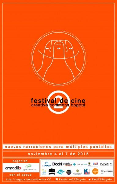Poster Segundo Festival CC Bogotá