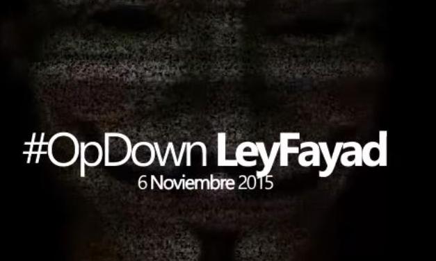 rupo de ciberactivistas Anonymous México publicó un vídeo en su canal de YouTube en el cual fija su postura en relación con la Ley Fayad a la que considera que criminaliza a los usuarios de internet y limita el derecho a la libertad de expresión - See more at: http://yucatan.com.mx/multimedia/otros-videos/anonymous-mexico-fija-postura-ante-la-ley-fayad#sthash.D6E7nTXF.dpuf