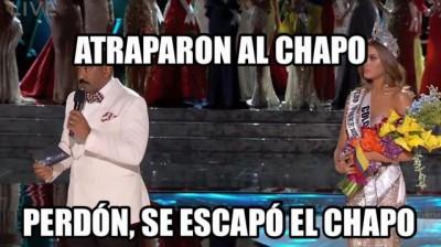 Meme Atraparon al Chapo