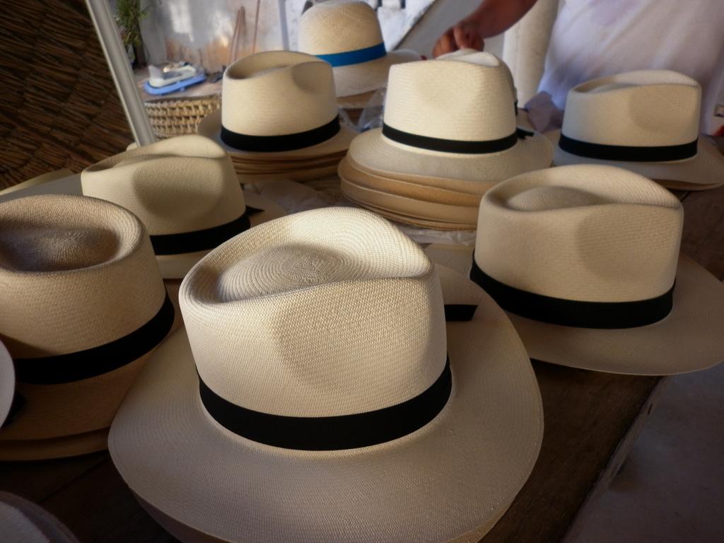 Sombreros de Panamá. Foto en Flickr del usuario Fabrizio Cornalba (CC BY 2.0).