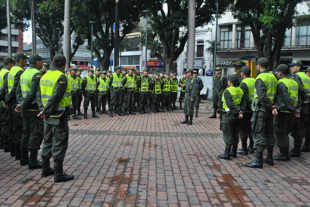 Policía Nacional de Colombia foto tomada de la cuenta en Flick del cuerpo de seguridad