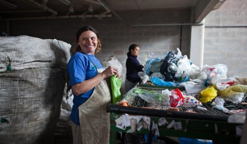 En América Latina más de 4 millones de personas viven del reciclaje informal. Foto Iniciativa Regional de Reciclaje Inclusivo. Permitido su uso.