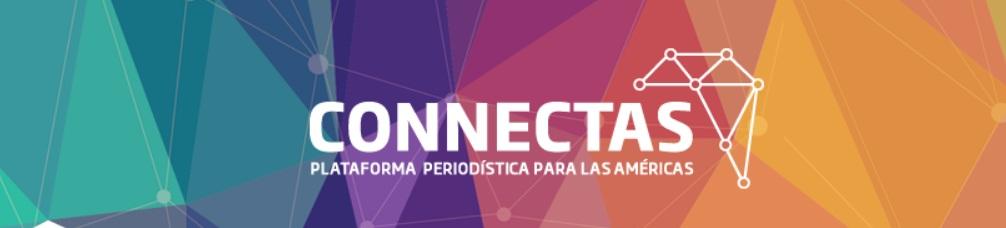 Logo de CONNECTAS, usado con autorización.