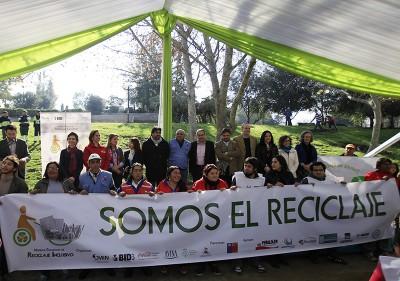 Para avanzar hacia un reciclaje inclusivo es clave la alianza entre diversos actores de la sociedad. Foto IRR permitido su uso.