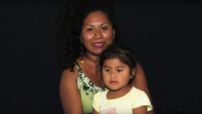 Campaña por la inclusión de los afro-chilenos en las estadísticas, organizada por la ONG Luganda con apoyo de la Fundación Ford. Captura de pantalla del video en Youtube.