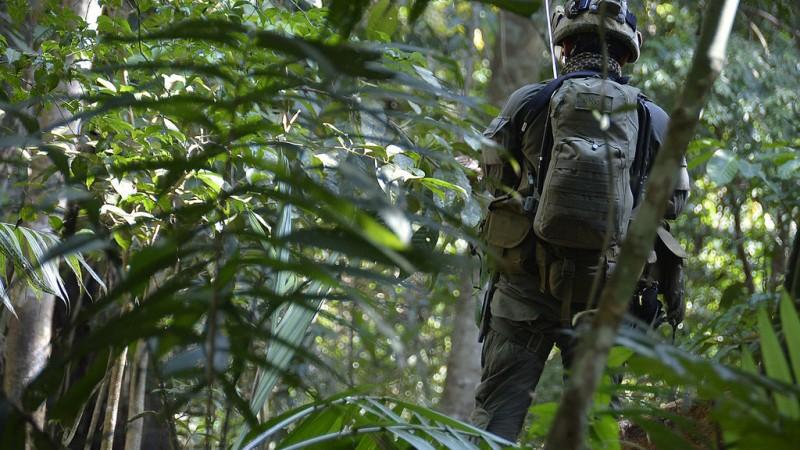 El paro armado del Clan Úsuga, también conocido como las Las Autodefensas Gaitanistas de Colombia, mantuvieron a varias zonas del norte de Colombia en vilo y despertaron preguntas sobre las conversaciones de paz que se desarrollan en el país. Fotografía de la cuenta Flickr de la 'Policía nacional de los colombianos', publicada bajo licencia Creative Commons (CC BY-SA 2.0)