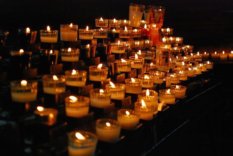 """""""Por las víctimas de la guerra contra los narcos, México"""". Foto del usuario Flickr Martín García. Usada bajo licencia CC 2.0"""