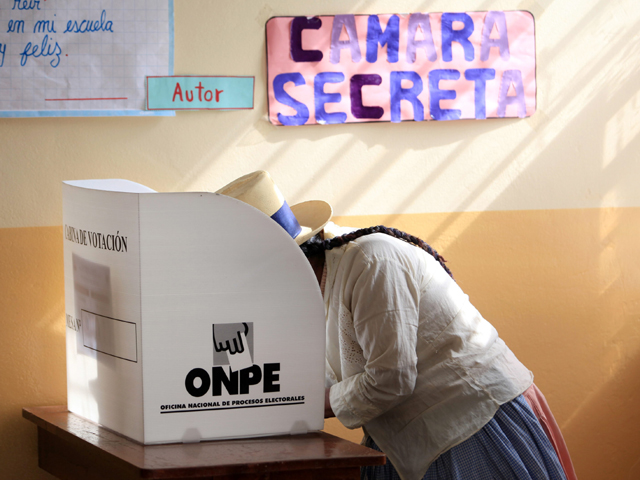 Peru Elections. Photo by Globovisión on Flickr. Used under CC licence 2.0