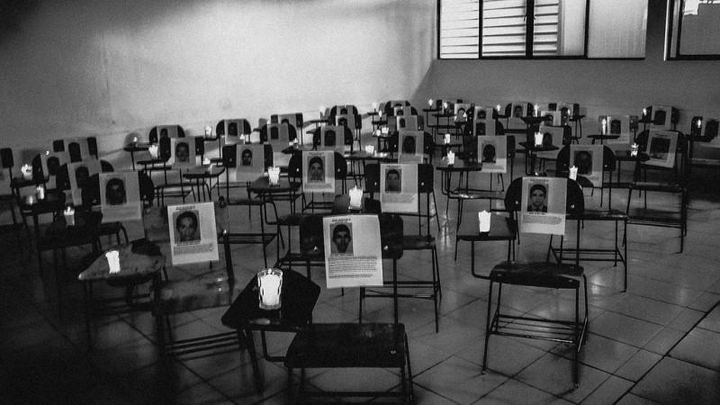 ¡¿Dónde están?! Ayotzinapa. Faltan 43. Foto del usuario Flickr Uriel López. Usada bajo licencia CC 2.0