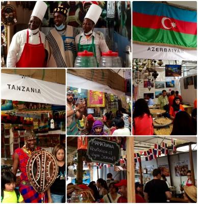 Azerbaiyán, Tanzania, Libia y República Dominicana, algunos de los países con presencia en la #FCA2016. Imagen del autor.