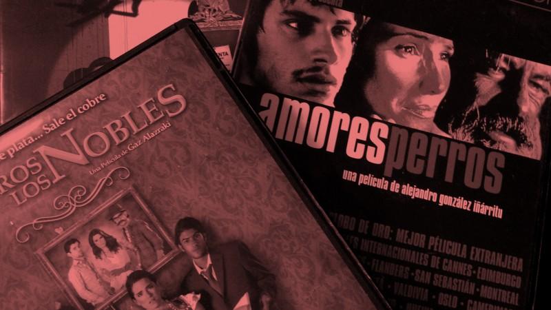 Portadas de películas mexicanas destacadas que son mencionadas en este post. Imagen del autor.