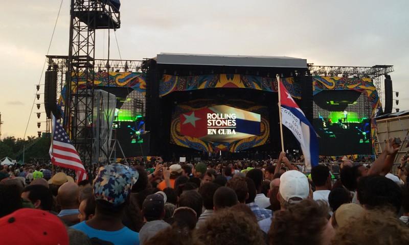Concierto de The Rolling Stones en La Habana (Foto: Mónica Baró - Periodismo de Barrio)