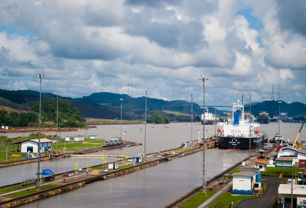 Canal de Panamá, imagen en Flickr del usuario Jose Jiménez (CC BY-SA 2.0).