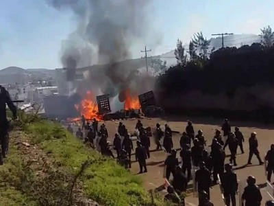 A Toxic Mix of Violent Activism and Police Repression Wreaks Havoc in Mexico's Oaxaca
