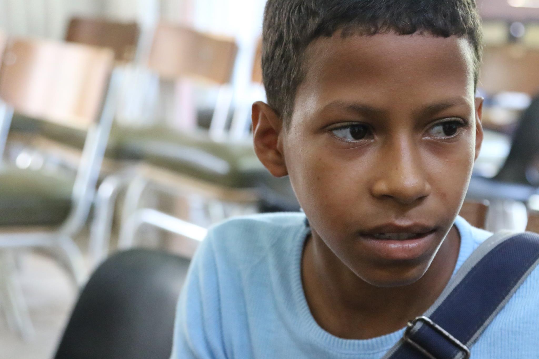 César Manuel, un niño migrante cubano (Foto: Periodismo de Barrio)