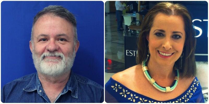 Gabriel Páramo y Laura Martín: Maestros que sí trabajan en México. Imagen del autor.