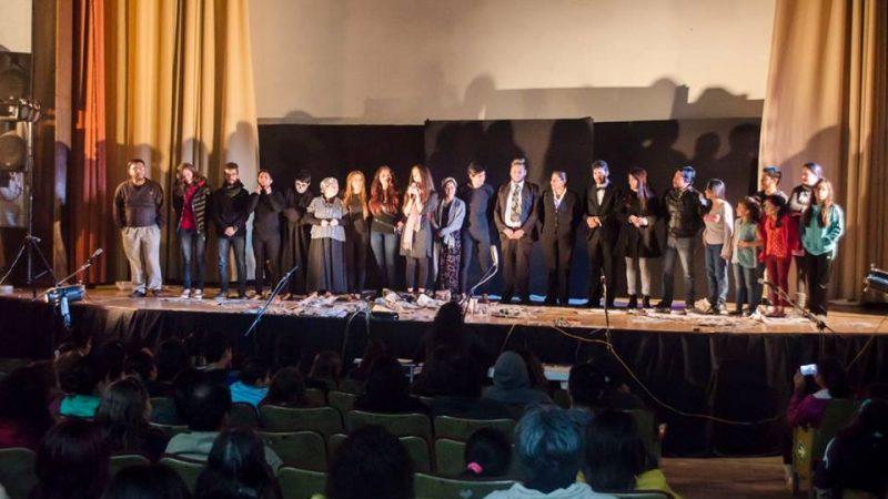 La Red Cultural Loja agradeció a los asistentes por creer que el teatro es una camino de ayuda a los más afectados del terremoto del pasado 16 de abril. (Foto tomada de la página oficial de la Red Cultural Loja).