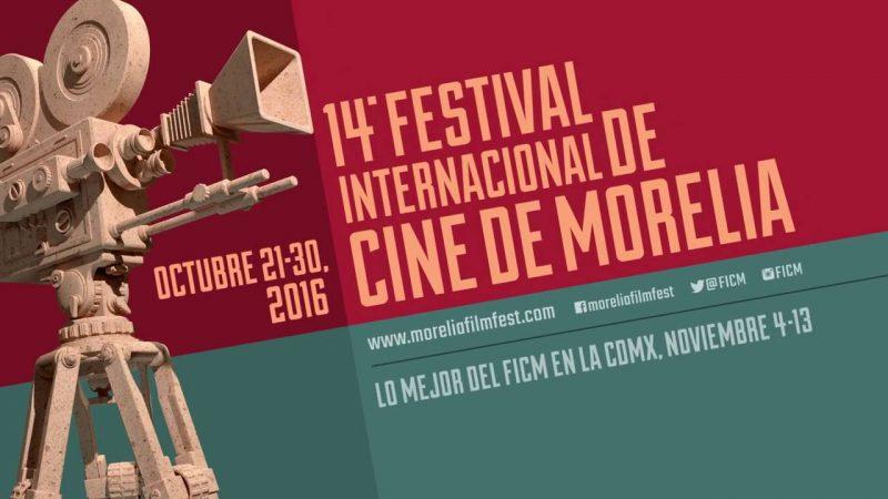 Afiche oficial del Festival de Cine de Morelia. Tomado de su sitio oficial.