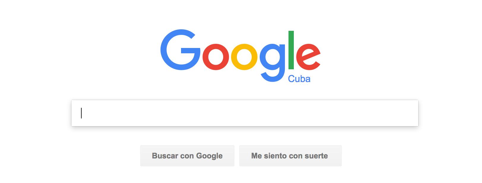 Google y el gobierno cubano han firmado un acuerdo. La imagen es una captura de pantalla.