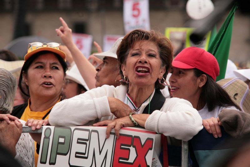 Pemex. Foto del usuario de Flickr ivera. Usada bajo licencia CC 2.0