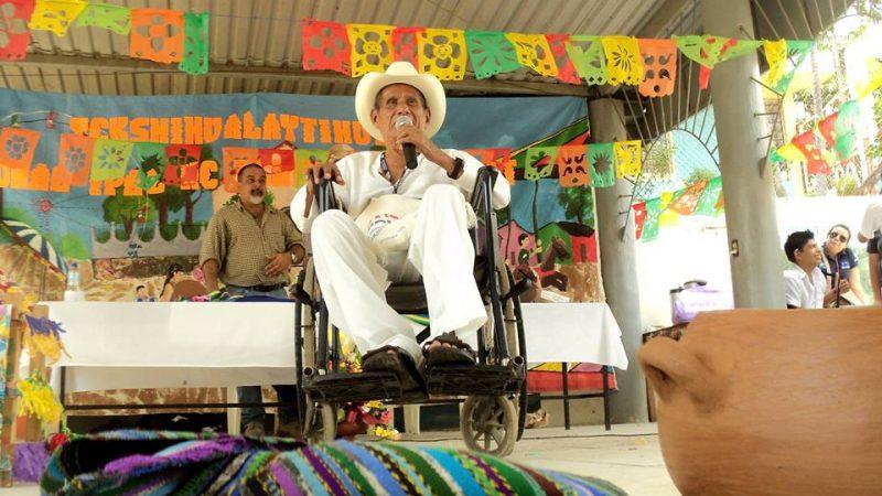 Genaro Ramírez en Santo Domingo de Guzmán, El Salvador. Con permiso del Colectivo Tzunhejekat.