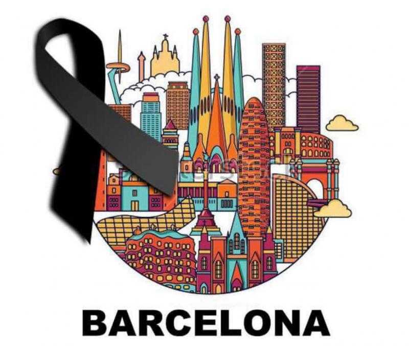 Meme de Barcelona de luto. Ilustración ampliamente compartida en Twitter bajo la etiqueta #NoTincPor