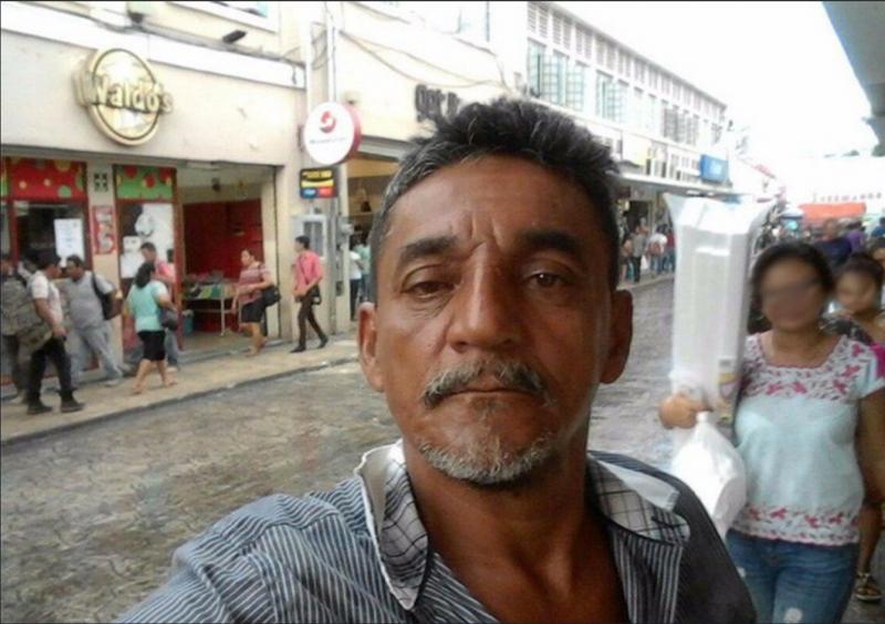 Cándido Ríos Vázquez. Imagen ampliamente compartida en Twitter.