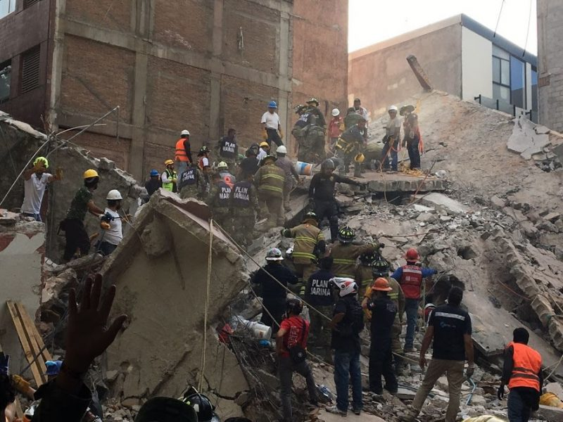 mexico earthquake condesa