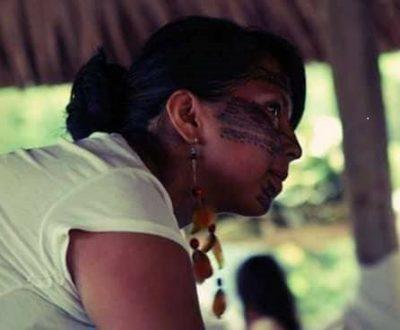 Abigail Gualinga, responsable des jeunes de Sarayaku