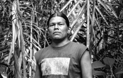 José Santi, un des responsables du blog de Sarayaku, Sarayaku signifie le peuple de midi.